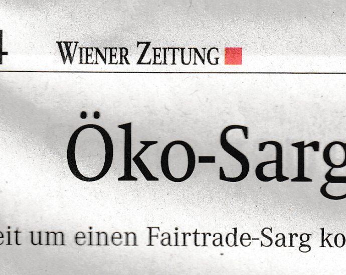 Scan: Wiener Zeitung