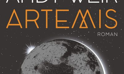Ausschnitt Cover Heyne: Andy Weir: Artemis
