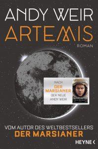 Cover Heyne: Andy Weir: Artemis