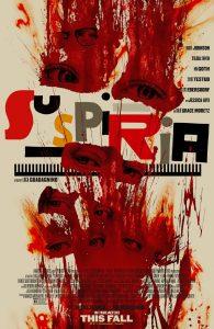 Poster Suspiria - Titelschrift