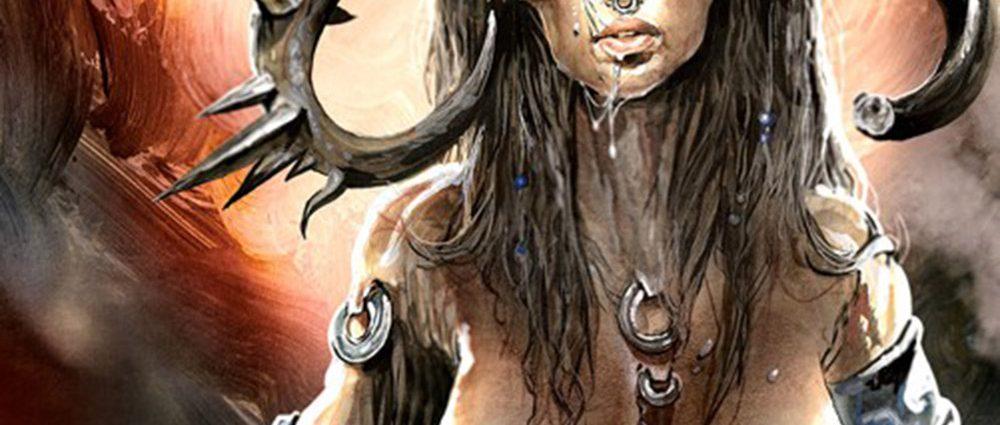 Ausschnitt Cover: Edward Lee: Minotauress