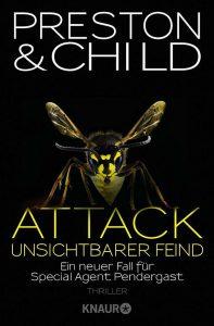 Cover Droemer Knaur: Preston & Child: Attack