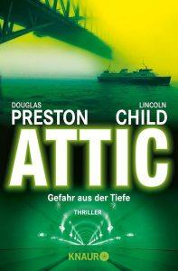 Cover Droemer Knaur: Preston & Child: Attic