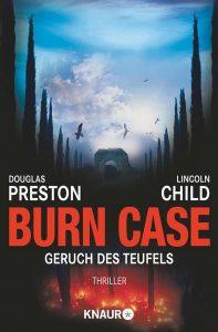 Cover Droemer Knaur: Preston & Child: Burn Case