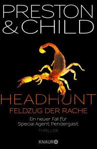 Cover Droemer Knaur: Preston & Child: Headhunt