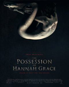 Movie Poster: The Possession of Hannah Grace