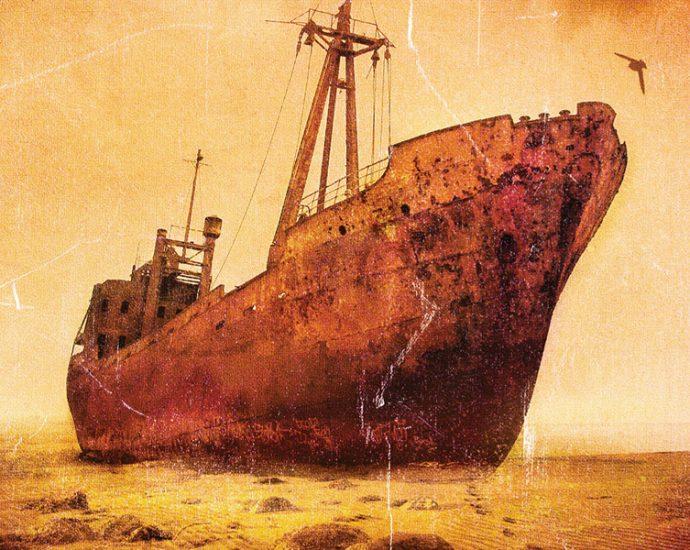 Ausschnitt Cover Heyne: Paolo Bacigalupi: Schiffsdiebe
