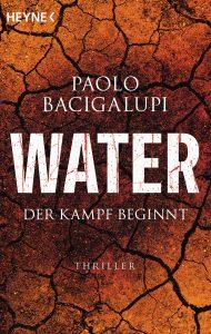 Cover Heyne: Paolo Bacigalupi: Water