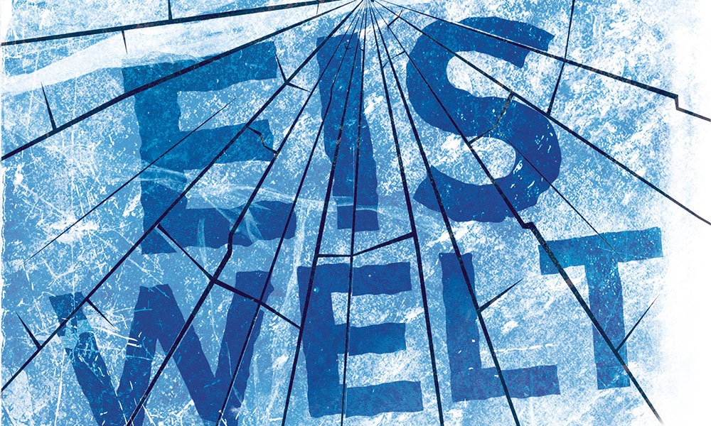 Header: Eiswelt, Jasper Fforde