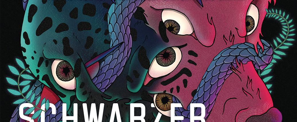 Ausschintt Cover: Marlon James: Schwarzer Leopard, roter Wolf