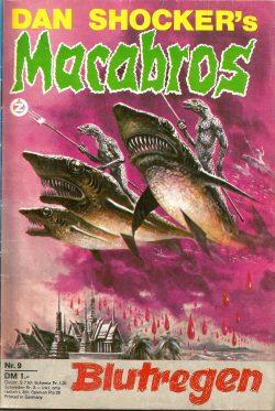 Cover: Lonati: Dan Shocker's Macabros Bd. 9