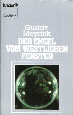 Cover: Gustav Meyrink: Der Engel vom westlichen Fenster (Knaur TB)
