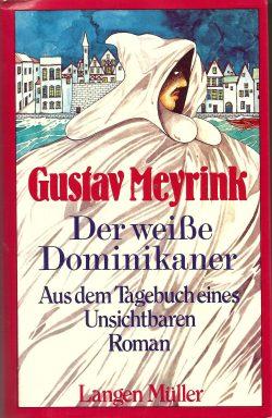 Cover: Gustav Meyrink: Der weisse Dominikaner